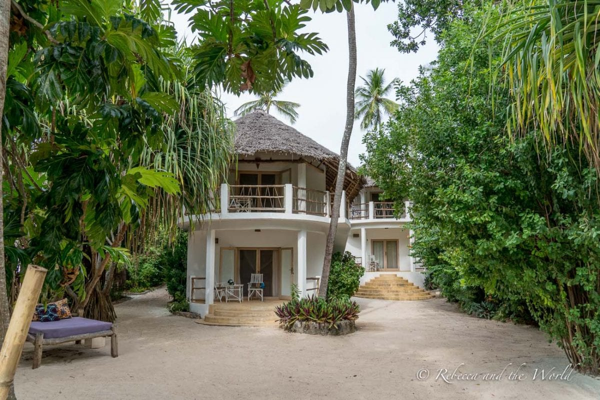 Sharazad Boutique Hotel in Jambiani is a beautiful place to stay in Zanzibar