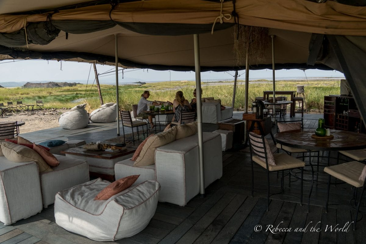 While Lake Natron Camp is remote, they have created a unique experience that is also eco friendly