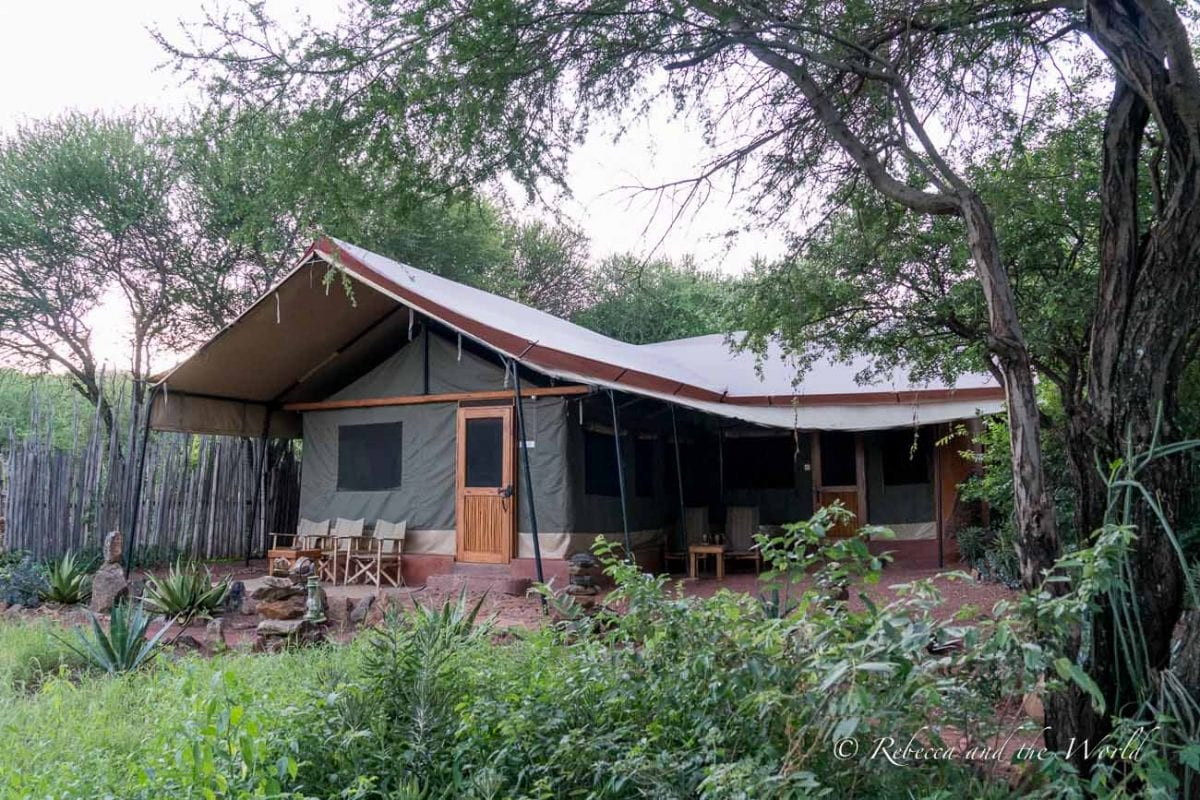 Isoitok Camp Manyara was one of my favourite places to stay in Tanzania