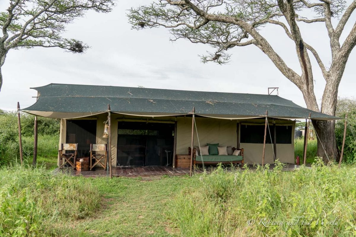 One of the best places to stay in Ndutu in Tanzania is Lemala Ndutu, a mobile tented camp