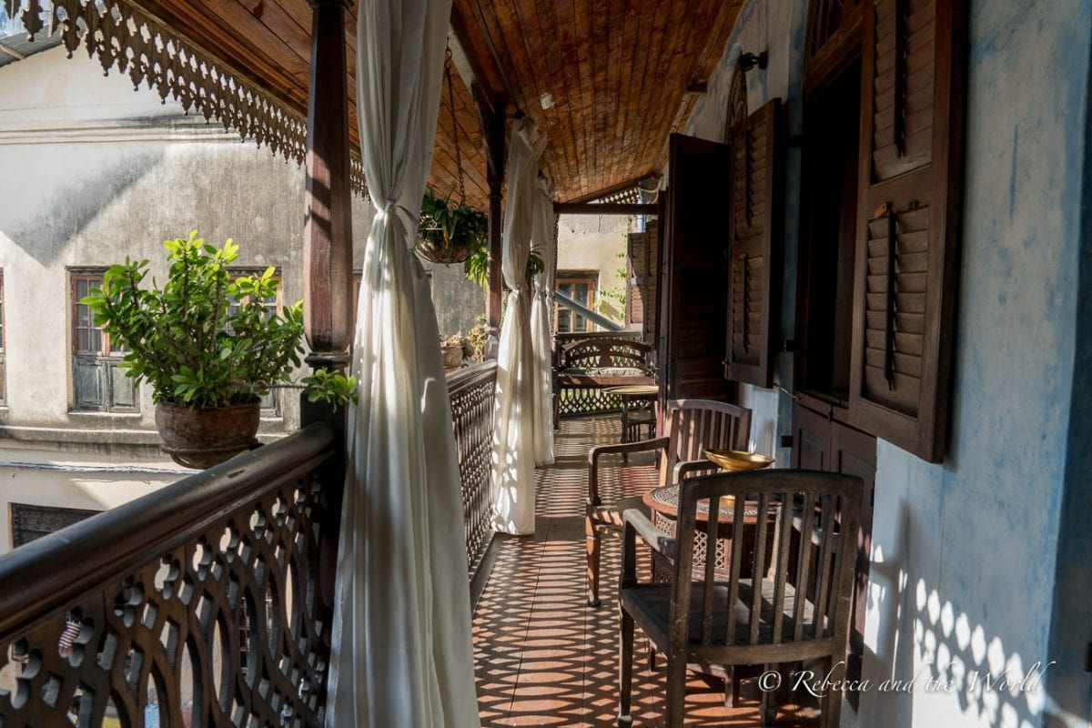 The Emerson Spice Hotel is one of the best places to stay in Stone Town in Zanzibar