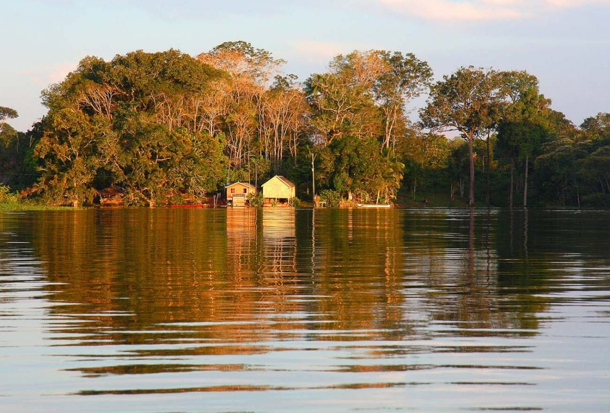 One of the places that has long been on my bucket list is the Amazon