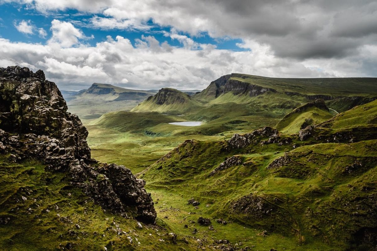 The rugged beauty and a family connection are reasons why I'd like to visit Scotland