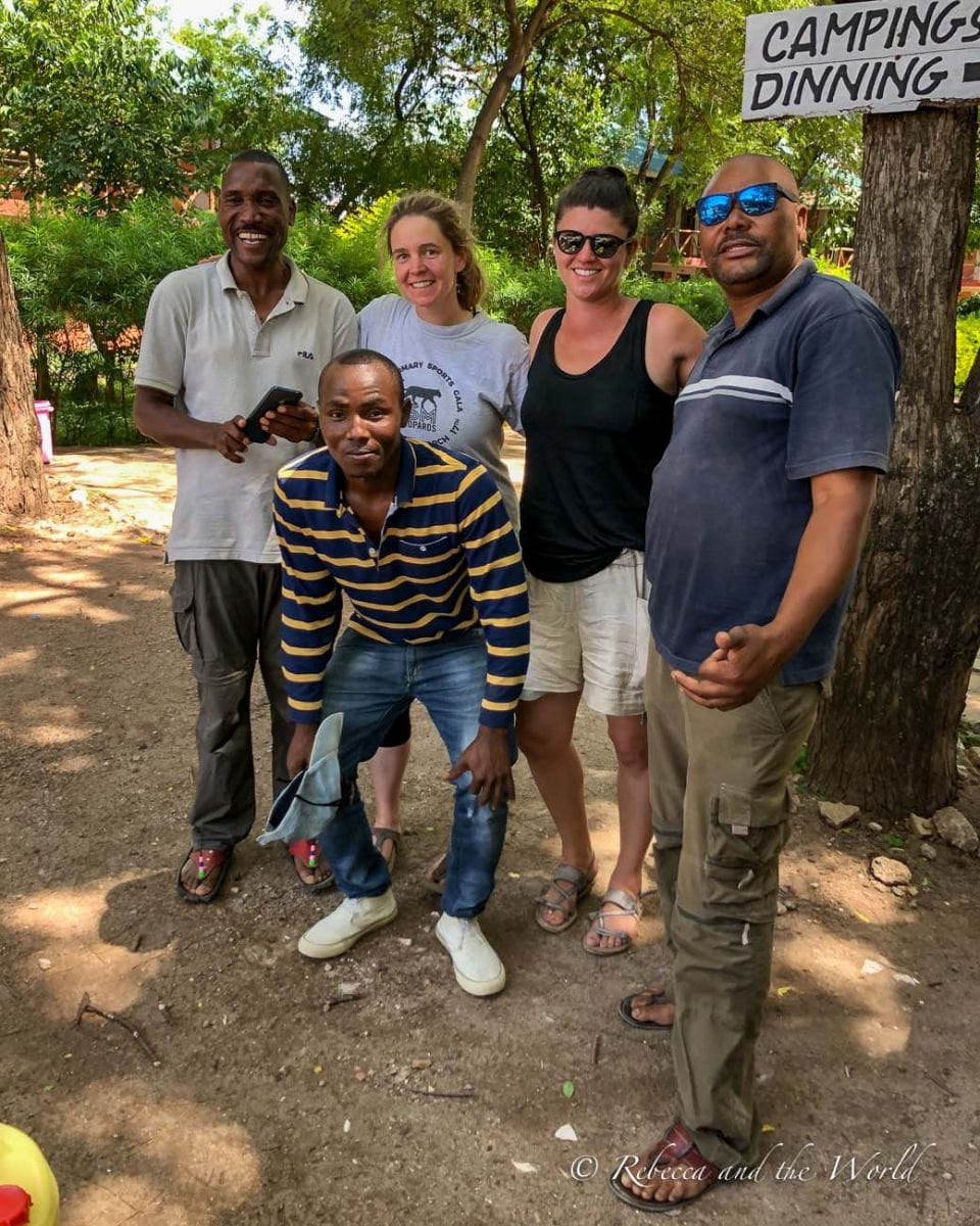 The amazing crew that took care of me during my hike from Ngorongoro to Lake Natron