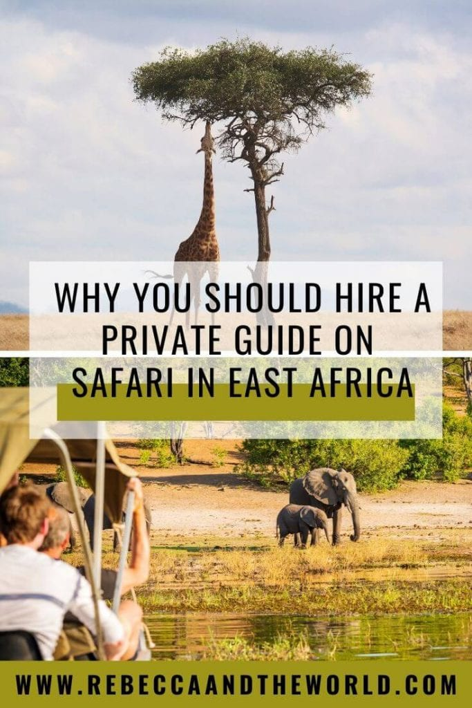 Wondering how to travel in East Africa? Here are 9 reasons why I think the best way to take a safari in East Africa is with a private driver guide. | #safari #EastAfrica #AfricaTravel #AfricaTour