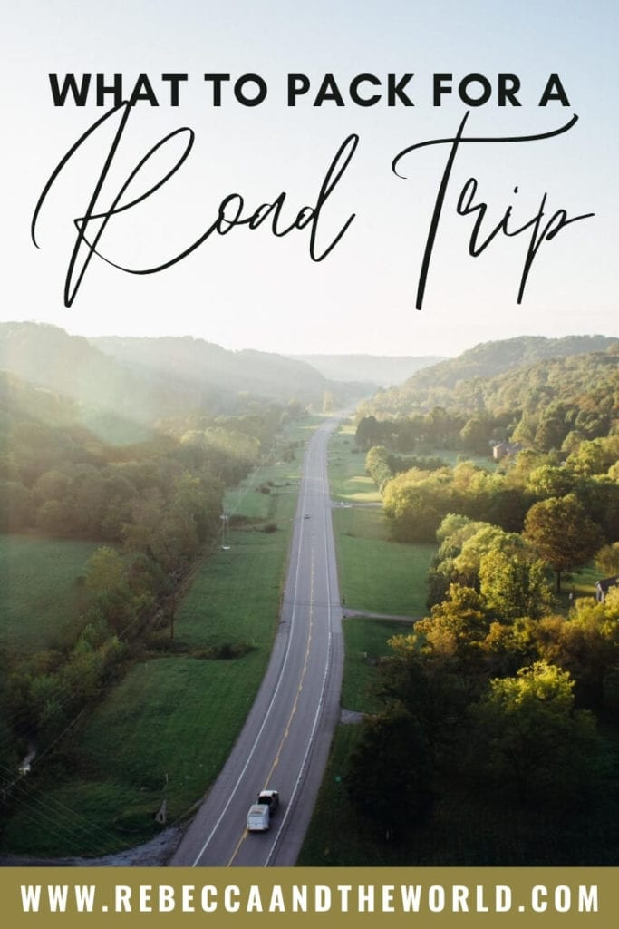 The ultimate road trip packing list from someone who's driven 1000s of kms on multiple continents. This road trip essentials list includes items for safety, comfort, entertainment and even pets. Here's what to pack for a road trip, with printable list!