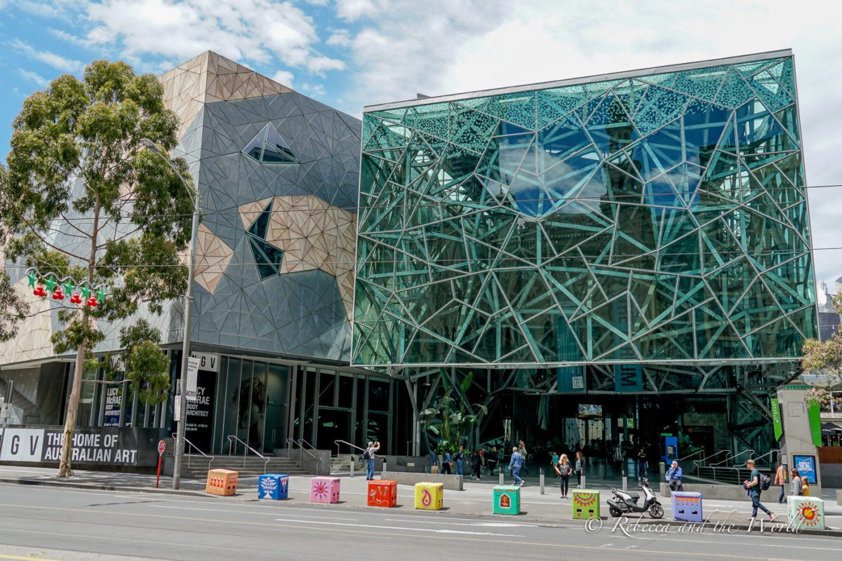 Melbourne's Federation Square is a great place to start your exploration of the Melbourne CBD