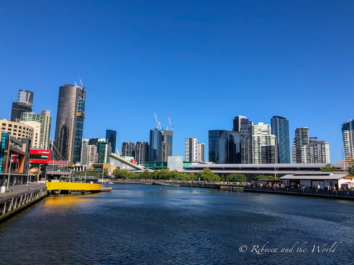 Just one of the city views you can expect during your 3 days in Melbourne!
