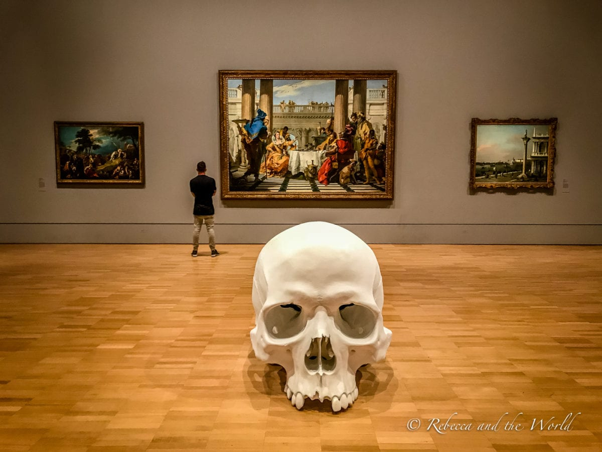 The National Gallery of Victoria is one of the best galleries in Melbourne