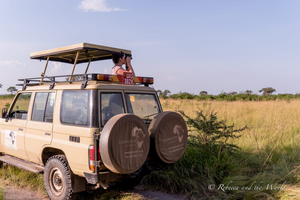 You'll be spending a lot of time in a vehicle while on safari in Africa, so if you're wondering what to wear on safari, my answer is lots of comfy clothes!