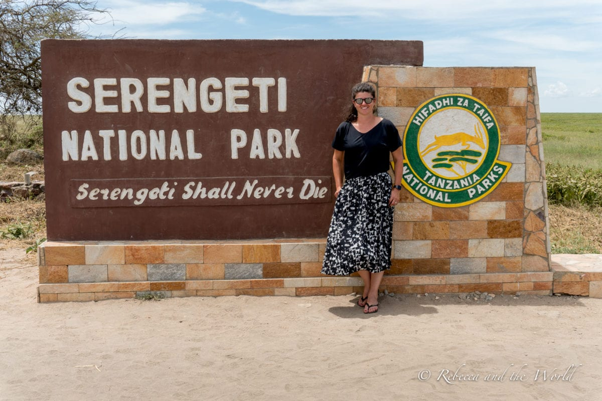 Visiting Serengeti National Park in Tanzania