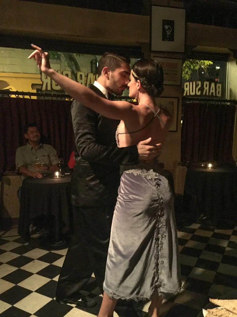 See a tango show in Buenos Aires at Bar Sur