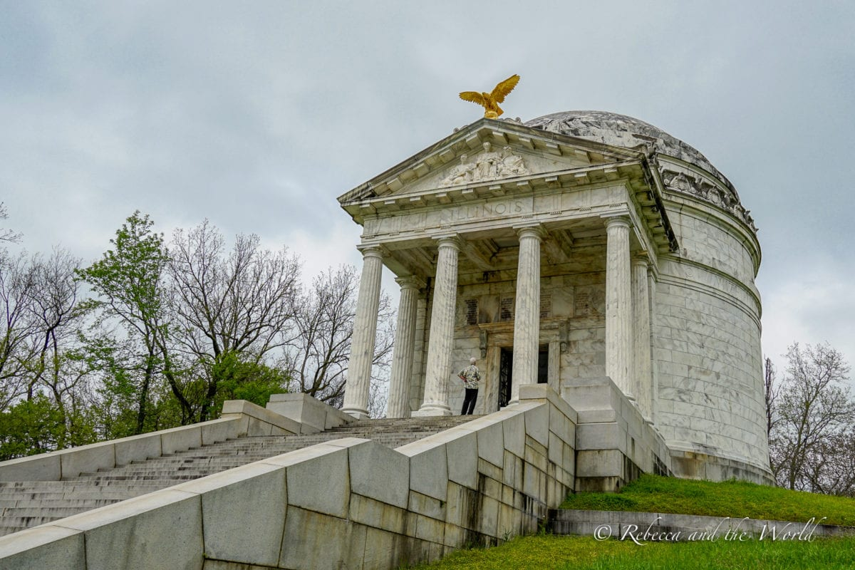 There are many sights to see at the Vicksburg National Military Park