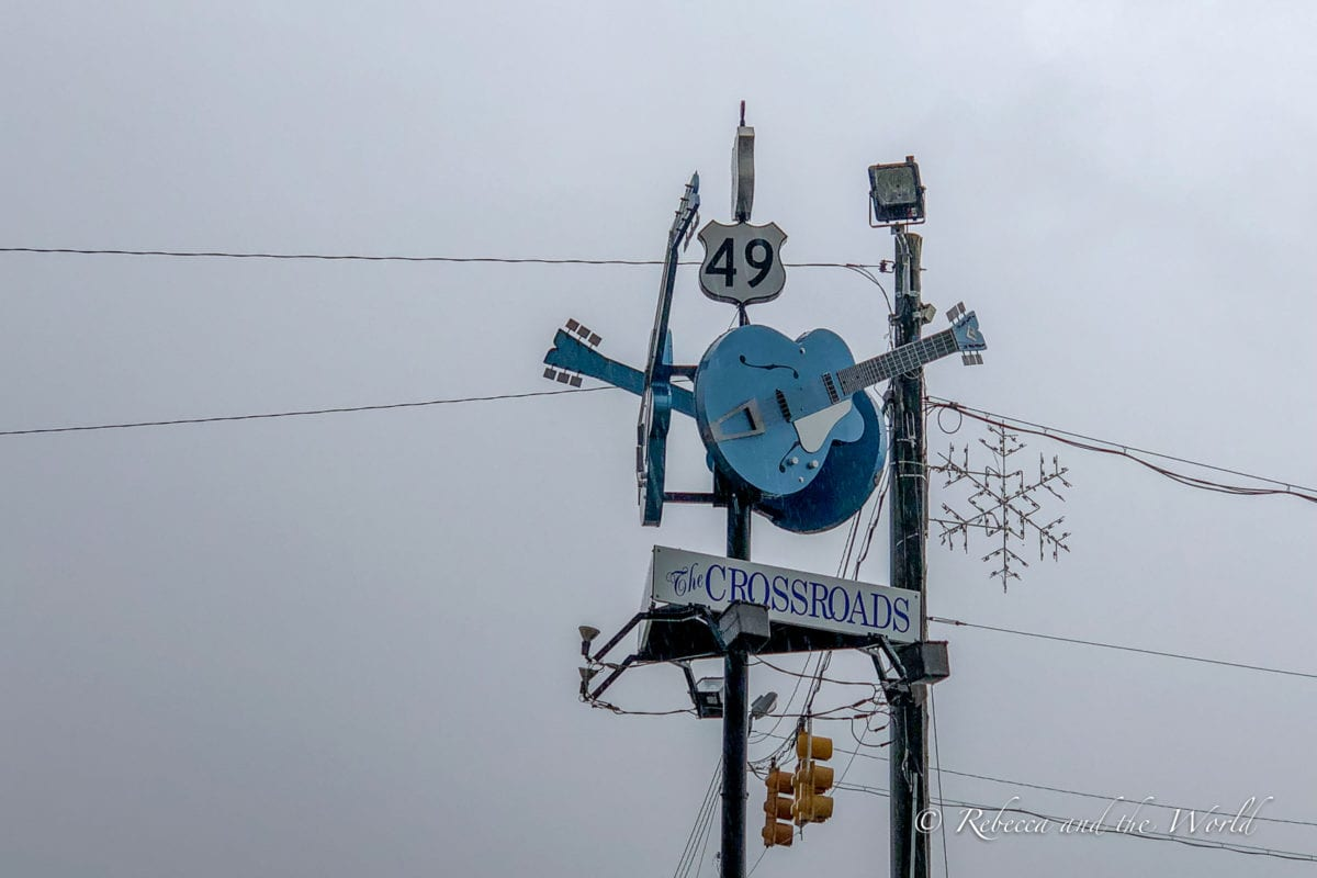 The Crossroads in Clarksdale, MS where Robert Johnson allegedly sold his soul to the devil