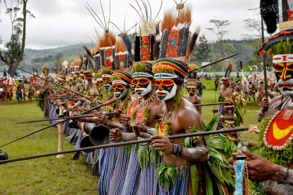 PNG has many incredible festivals that show of the diversity of cultures in Papua New Guinea