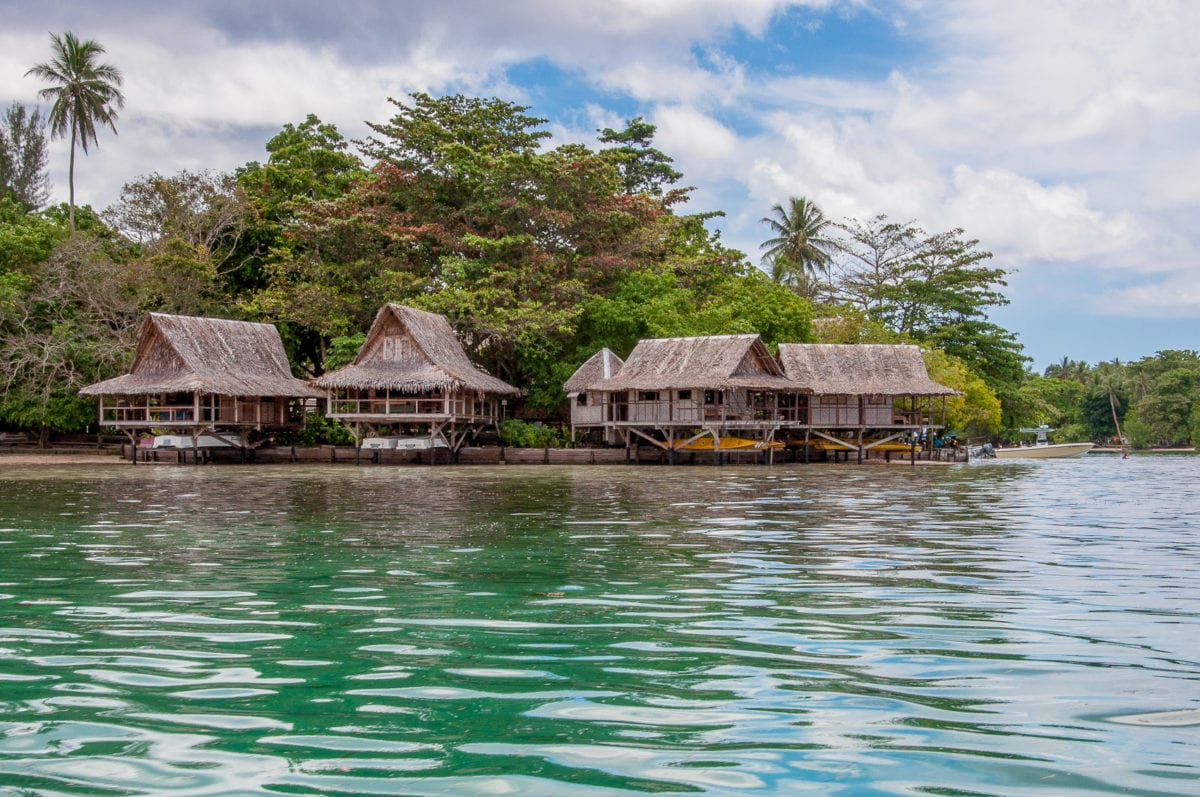 One of my favourite places to stay in Papua New Guinea is at Nusa Island Retreat in the overwater bungalows