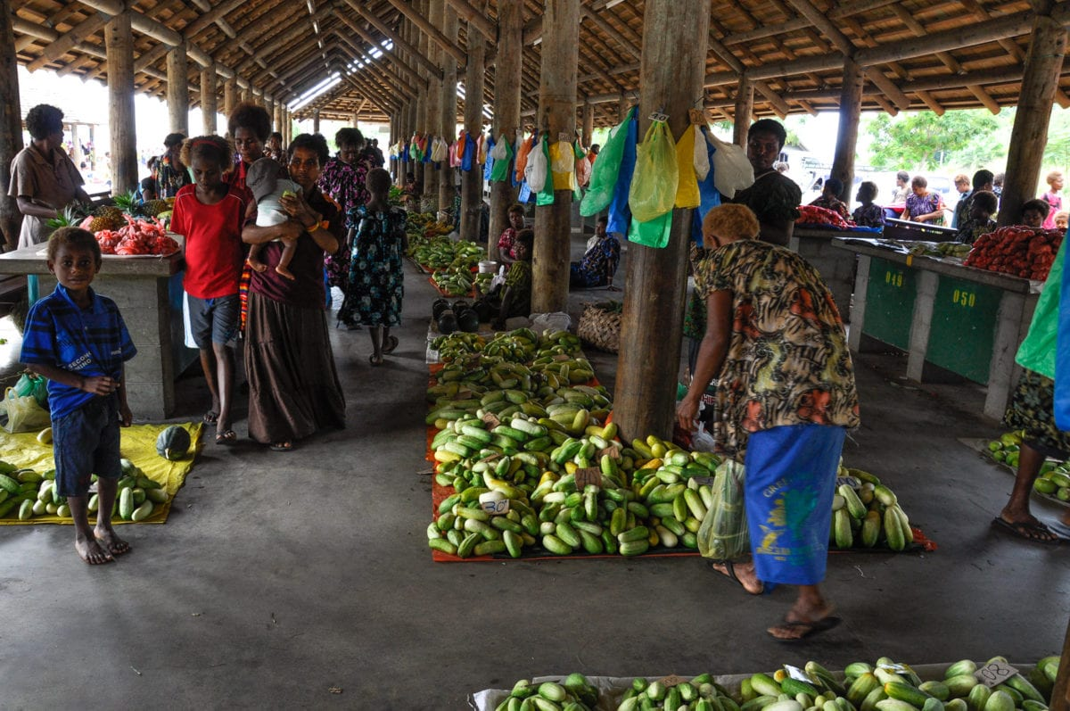 One of my favourite markets in PNG is the Kokopo market