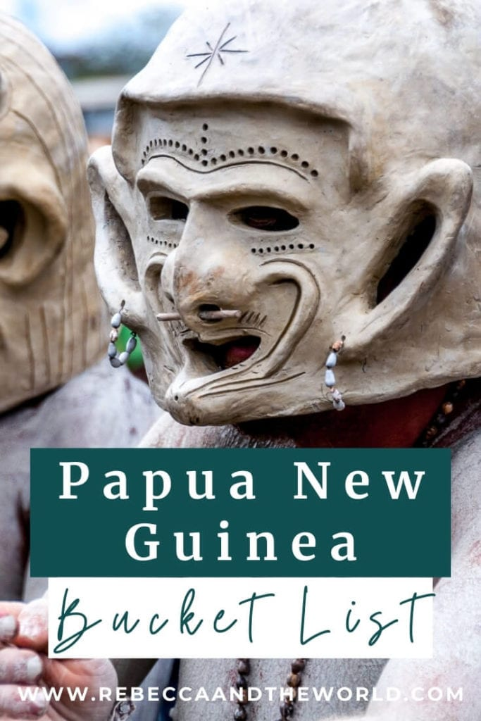 Top 15 things to do in Papua New Guinea - a PNG travel guide by someone who lived there. Find out what to do in Papua New Guinea, from the best islands to visit to adventure activities to cultural experiences. | Papua New Guinea | PNG | Papua New Guinea Travel | Visit Papua New Guinea | Papua New Guinea Travel Guide | Pacific Islands Travel | Things To Do in Papua New Guinea | Is Papua New Guinea Safe | Places to Visit in Papua New Guinea | What To Do in Papua New Guinea | Things To Do in PNG