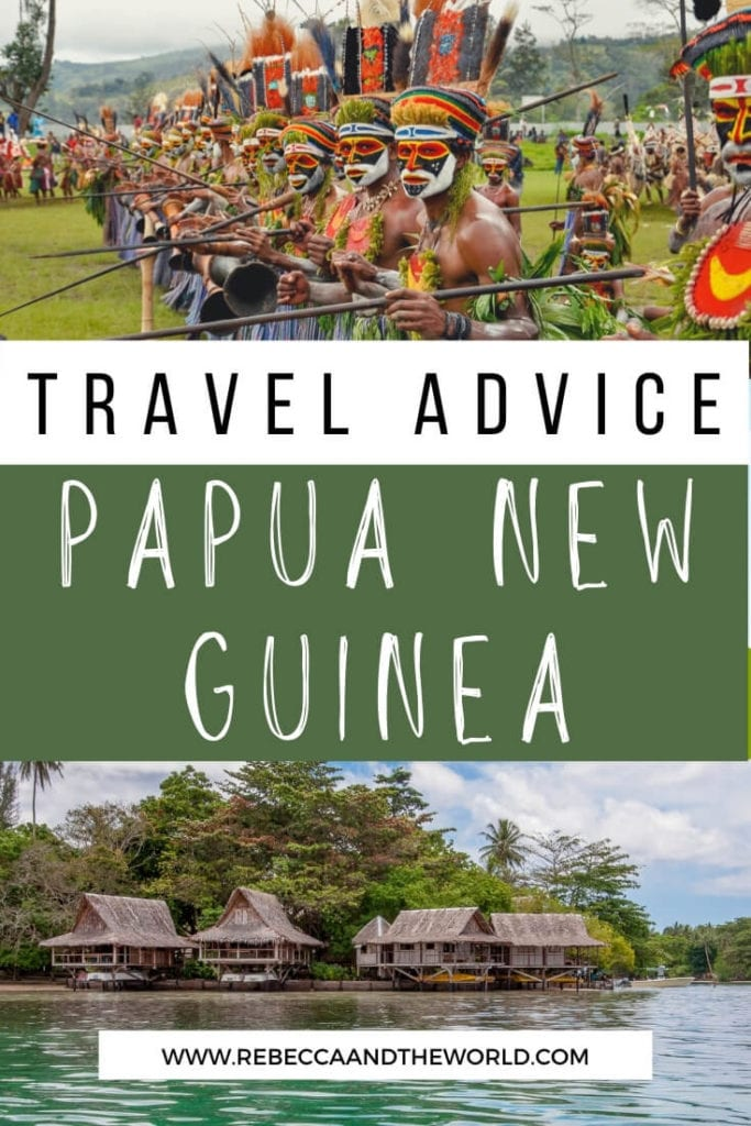 20 things to know before you visit Papua New Guinea, from safety in PNG to what to wear and how to get around. | Visit Papua New Guinea | Travelling to Papua New Guinea | Papua New Guinea Travel | Best Time to Visit Papua New Guinea | Things To Do in Papua New Guinea | Papua New Guinea Itinerary | What To Do in Papua New Guinea | Is Papua New Guinea Safe | Travel to Papua New Guinea | Papua New Guinea Travel | How to Get to Papua New Guinea | Papua New Guinea Facts | PNG Travel | Visit PNG