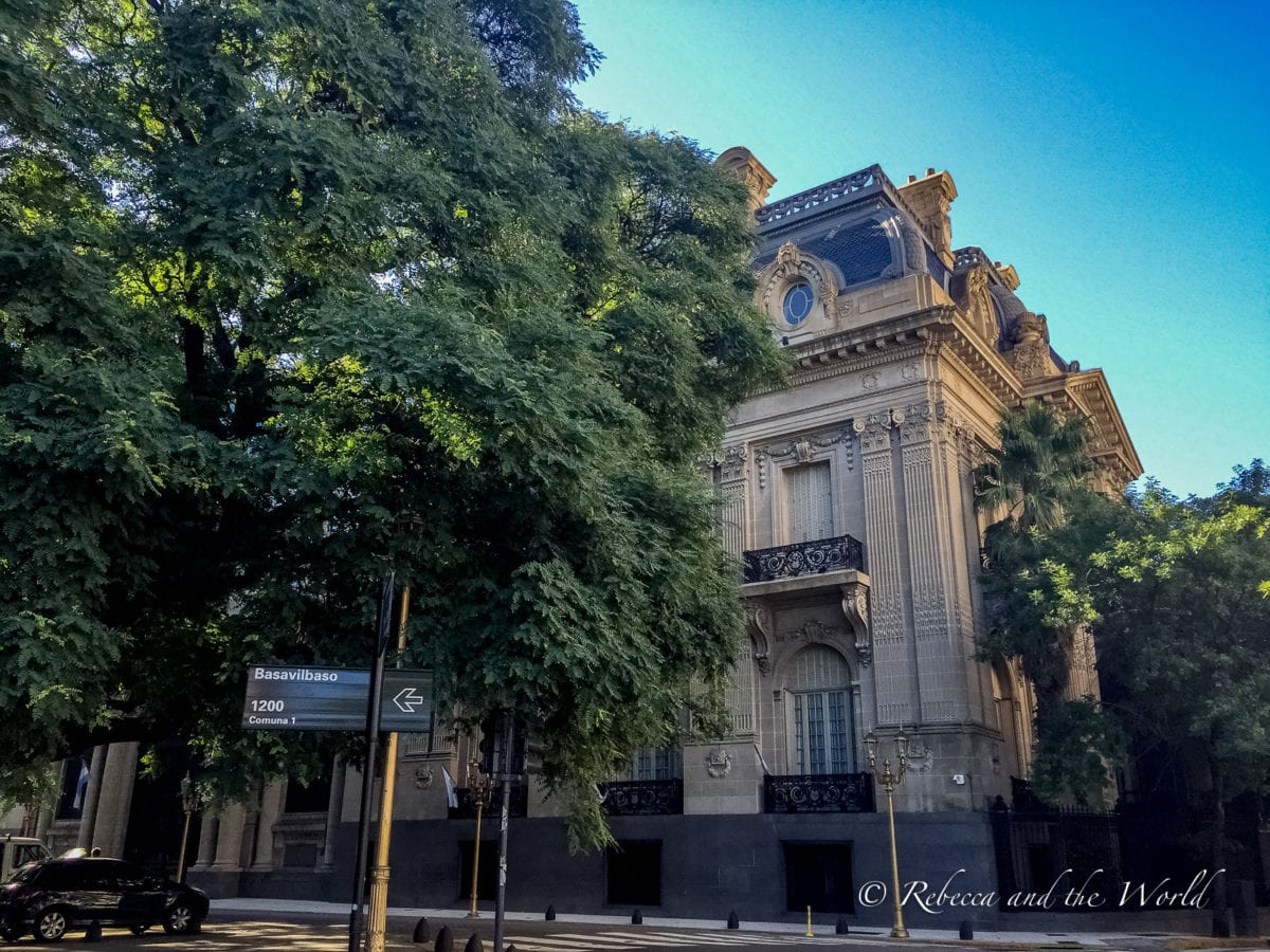 Recoleta is filled with gorgeous architecture and is one of the best areas to stay in Buenos Aires