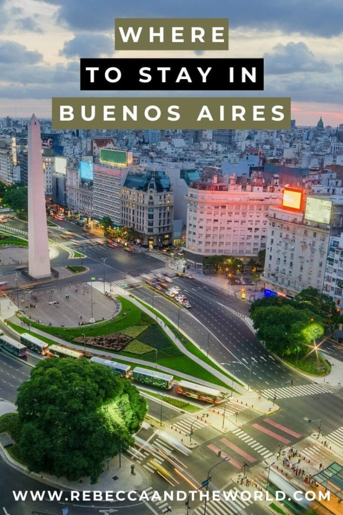 This guide to where to stay in Buenos Aires, Argentina, is by a (former) local and covers the best Buenos Aires neighborhoods. | Buenos Aires Travel | Buenos Aires | Visit Buenos Aires | Where to Stay in Buenos Aires | Buenos Aires Neighborhoods | Hotels in Buenos Aires | Buenos Aires Hotels | Hostels in Buenos Aires | Airbnb in Buenos Aires | Visit Argentina | Things To Do in Buenos Aires | Buenos Aires Travel Guide | Best Area to Stay in Buenos Aires | Apartments in Buenos Aires