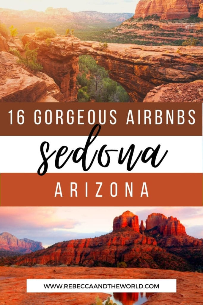 Find the best Airbnbs in Sedona with this hand-picked guide to Sedona vacation rentals. Covers budget to luxury options, couples to families. Plan your Arizona vacation! | Sedona Airbnbs | Airbnbs in Sedona | Sedona Vacation | Arizona Vacation | Visit Sedona | Visit Arizona | Things To Do in Sedona | Airbnb Sedona | Airbnb Sedona AZ | Cabins in Sedona | Places to Visit in Arizona | Things To Do in Arizona | Sedona Itinerary | Weekend in Sedona | What To Do in Sedona | Sedona Arizona | Sedona AZ