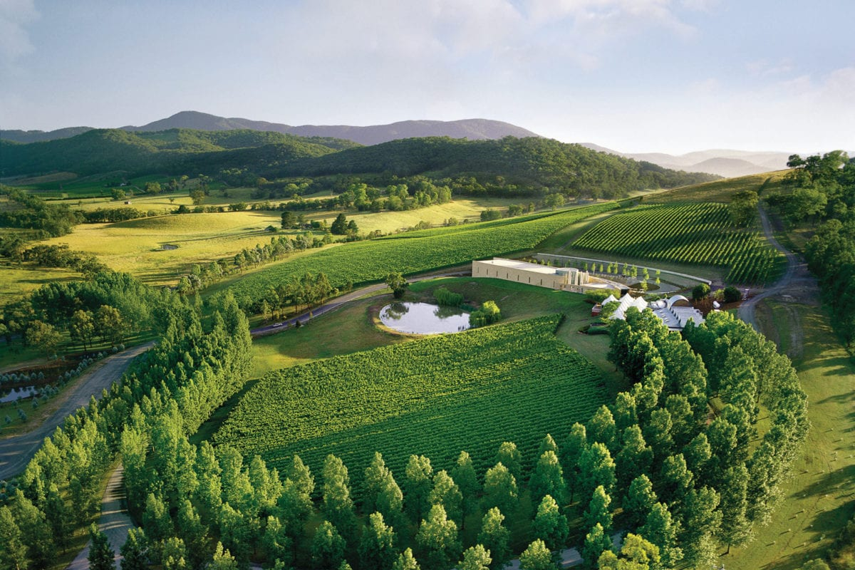 TarraWarra Estate in the Yarra Valley near Melbourne is a great destination for a day trip