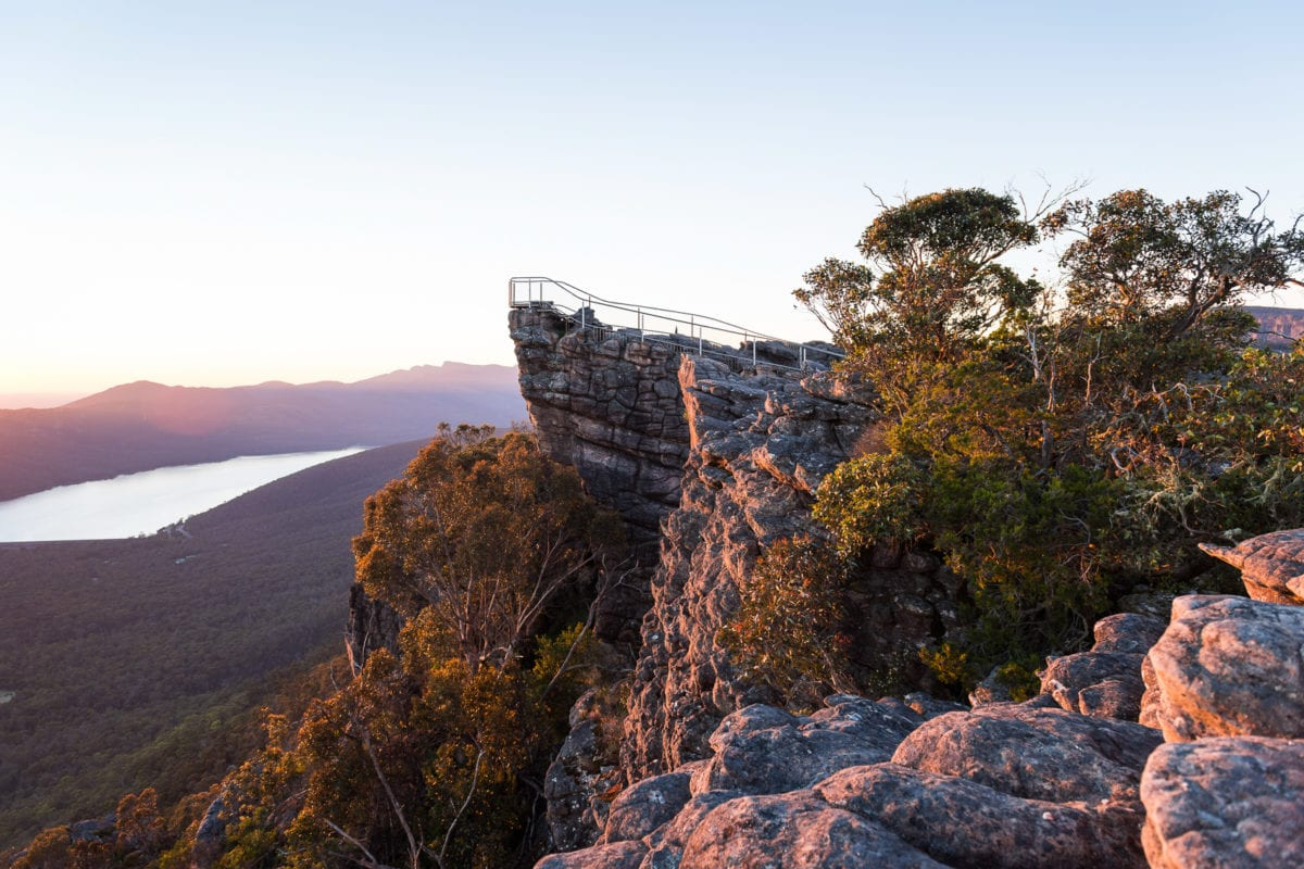 There are some great day hikes you can do on a trip to Grampians National Park from Melbourne