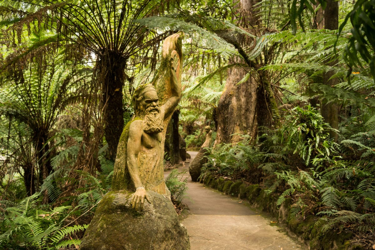 The Dandenong Ranges is one of the easiest day trips from Melbourne at under an hour's drive from the CBD