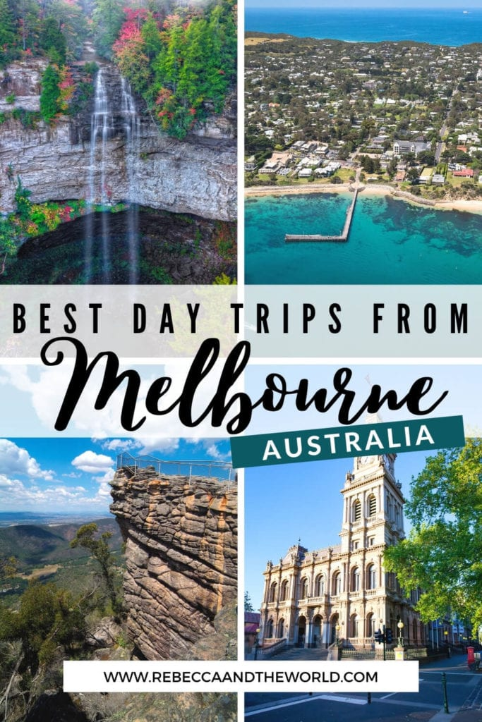 Get out of the city with one of these awesome day trips from Melbourne. Includes Melbourne day trips options under an hour from the city, between 1-2 hours away or 2+ hours' drive. | Melbourne Day Trips | Day Trips From Melbourne | Melbourne | Visit Melbourne | Melbourne Australia | Melbourne Tourist Guide | Melbourne Visitor Guide | Melbourne Itinerary | Things To Do in Melbourne | Things To Do Near Melbourne | Melbourne Day Tours | Best Day Trips From Melbourne | Road Trips Melbourne