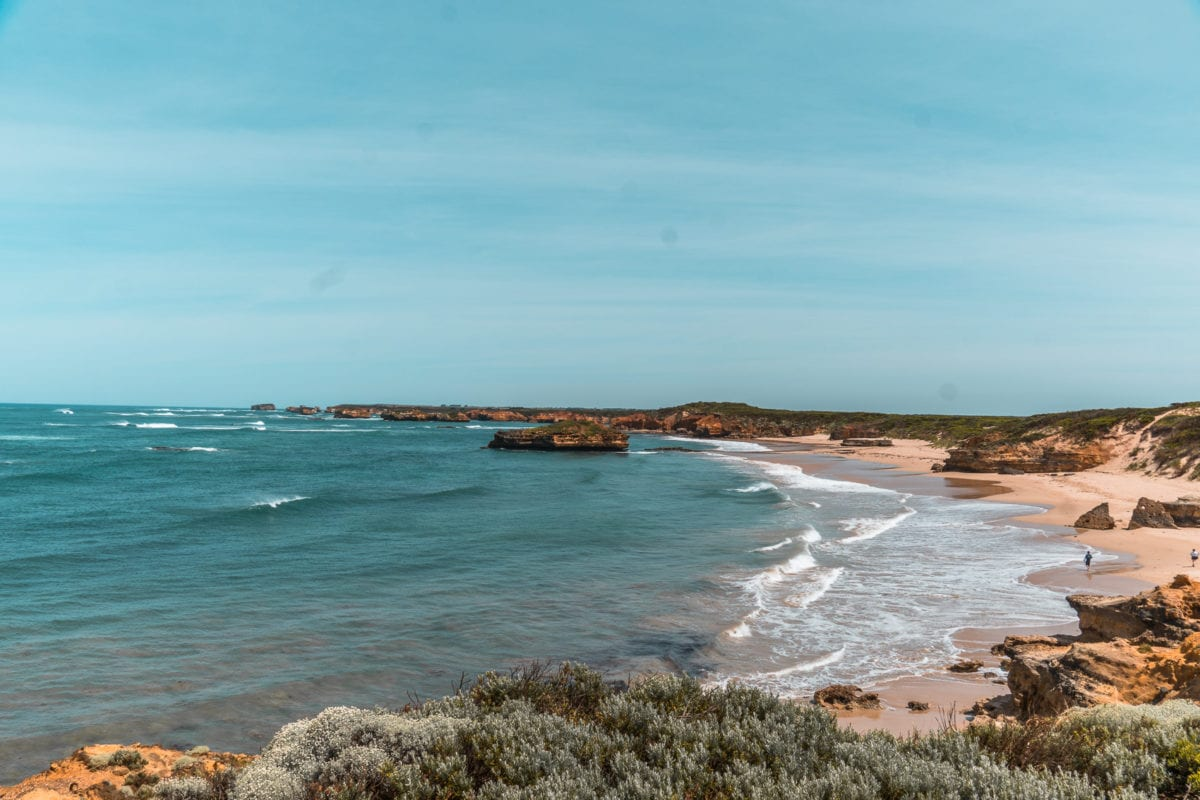 The Bay of Martyrs is an off the beaten path place to visit along the Great Ocean Road