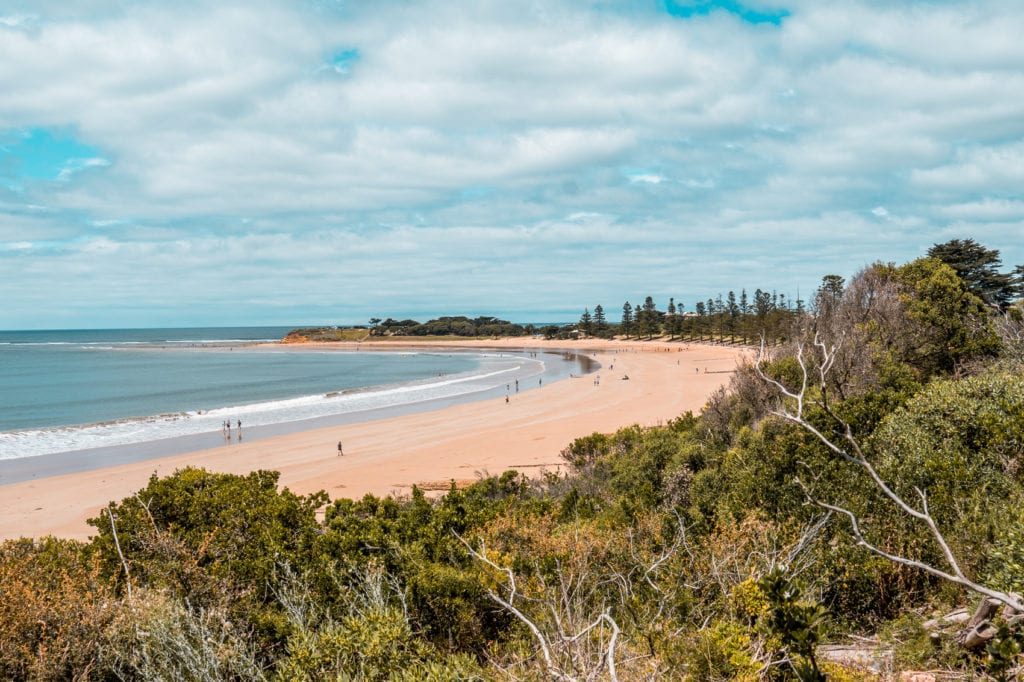 Torquay is one of the best places to visit on the Great Ocean Road - it's when the road officially begins