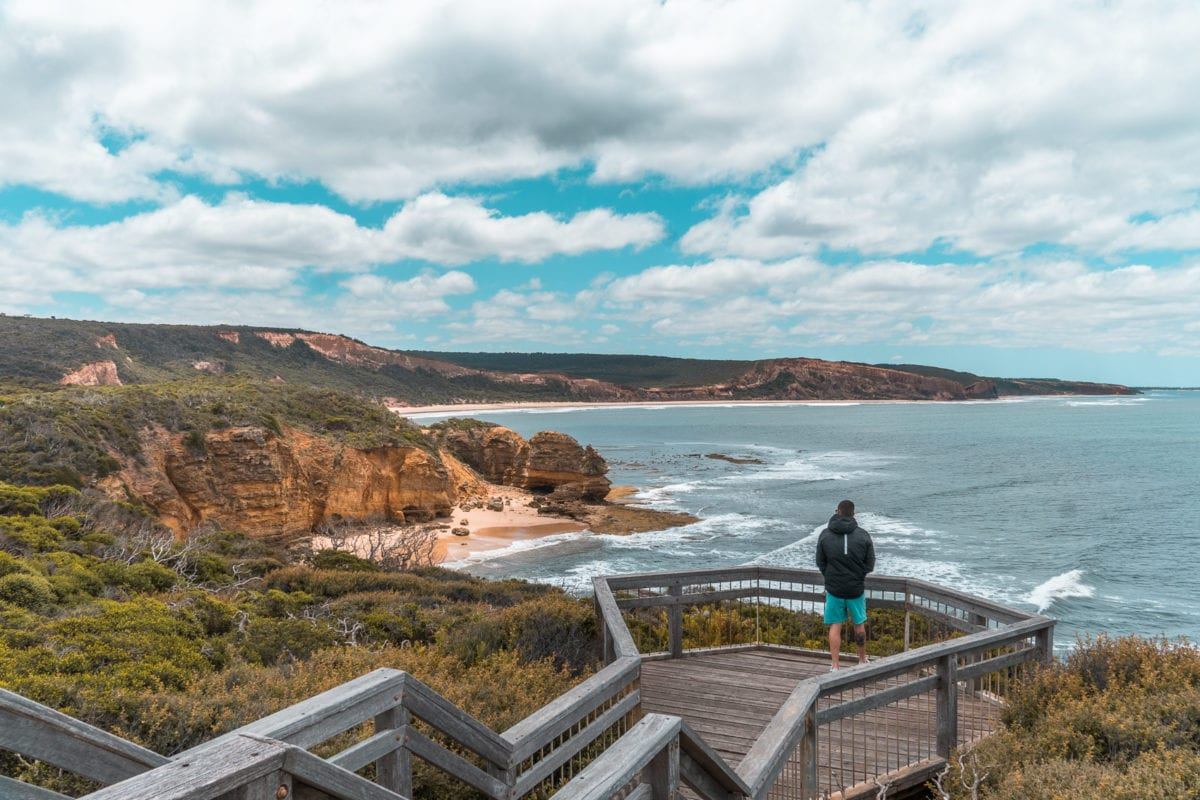 Take a detour off the Great Ocean Road to visit Point Addis for the amazing views