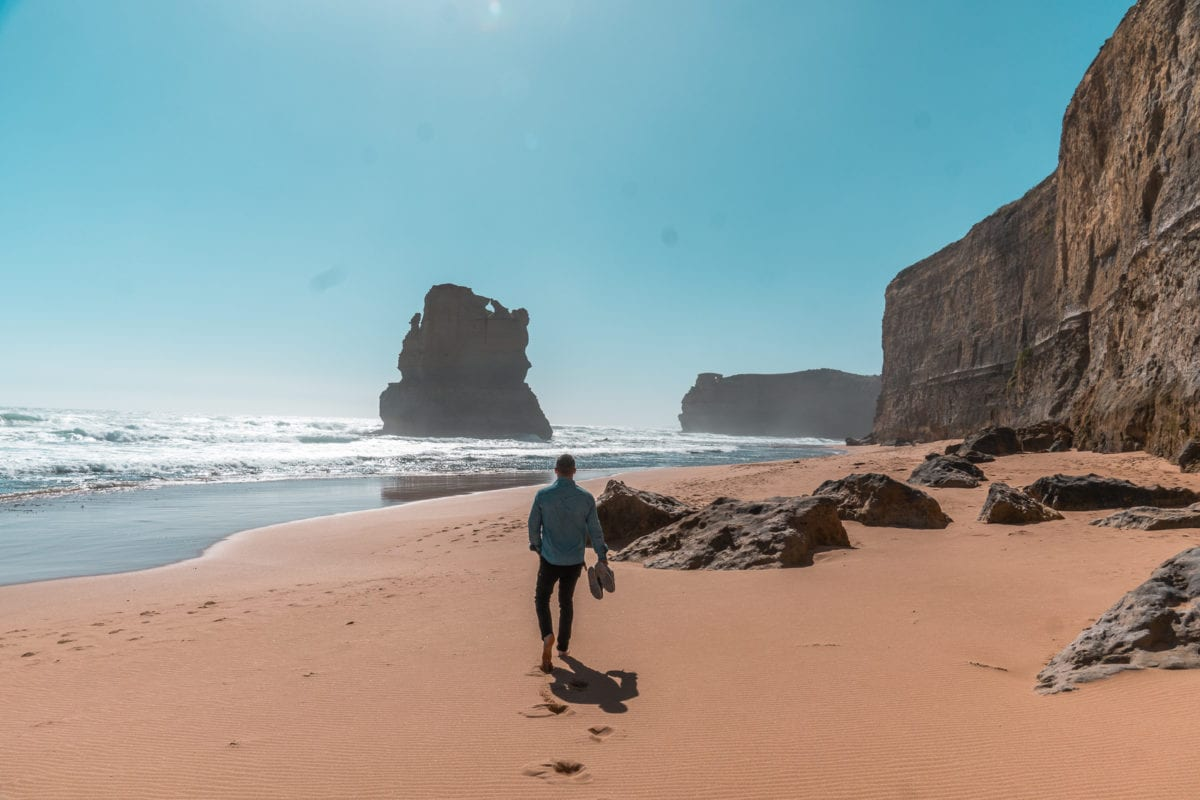 Make sure you stop by the Gibson Steps on the Great Ocean Road before visiting the 12 Apostles