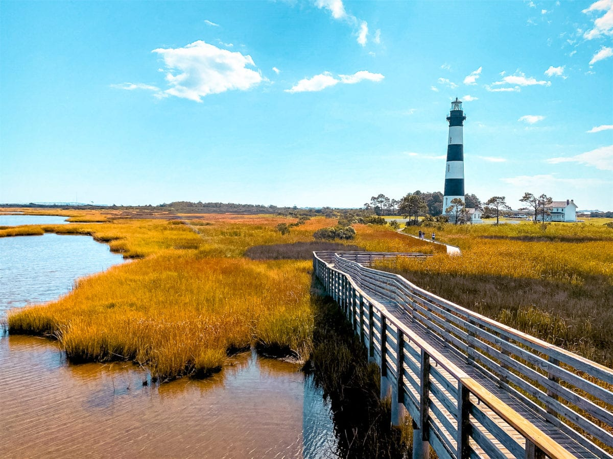 Head to the beaches of the Outer Banks in North Carolina
