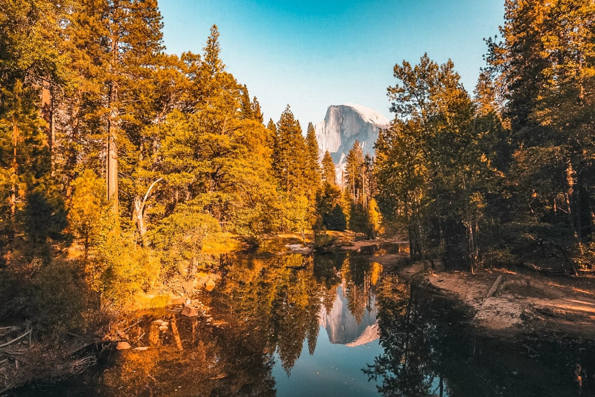 Yosemite National Park is one of the most beautiful national parks in the USA