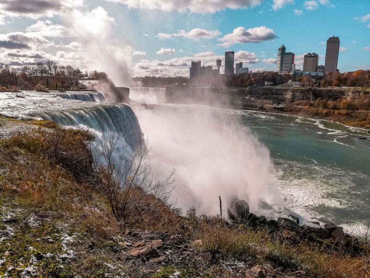 Niagara Falls will astound you with their beauty and power