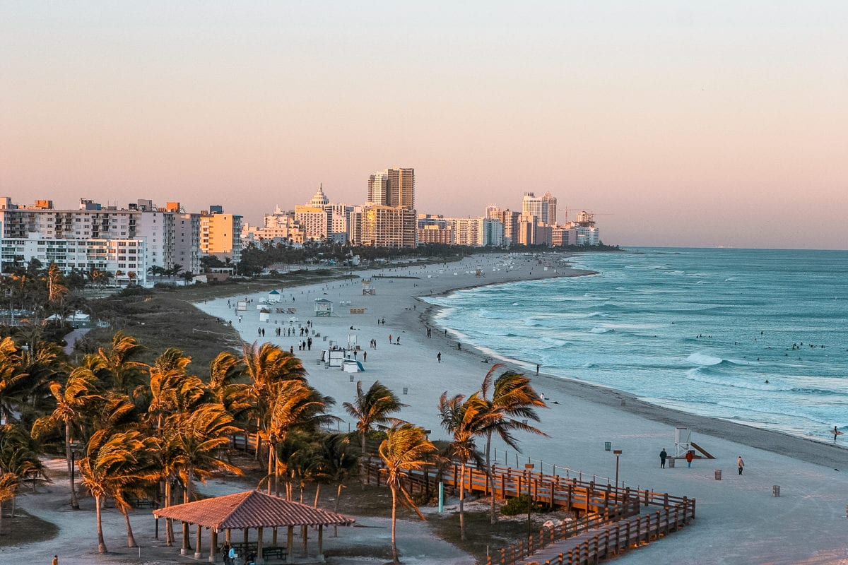 Miami is a great city to visit - there's beaches, city life and a lot of fun to be had