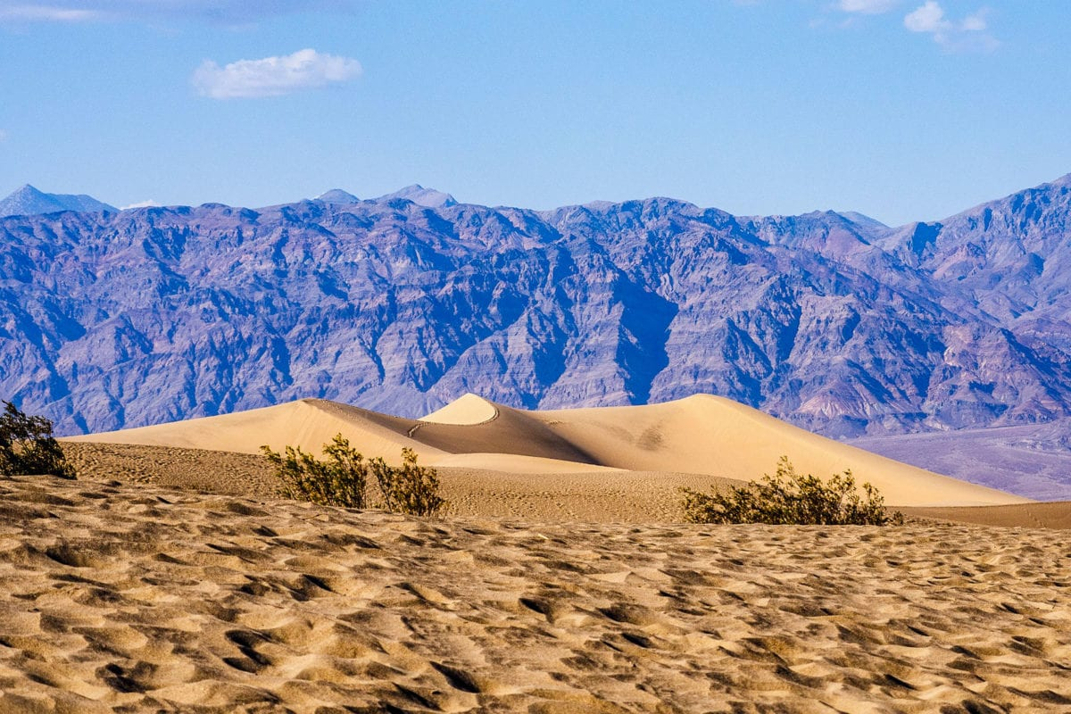 Death Valley is one of the driest places in the USA