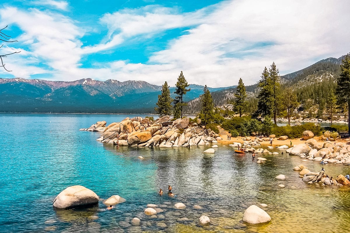 Lake Tahoe in California is a great destination to visit in the US year-round