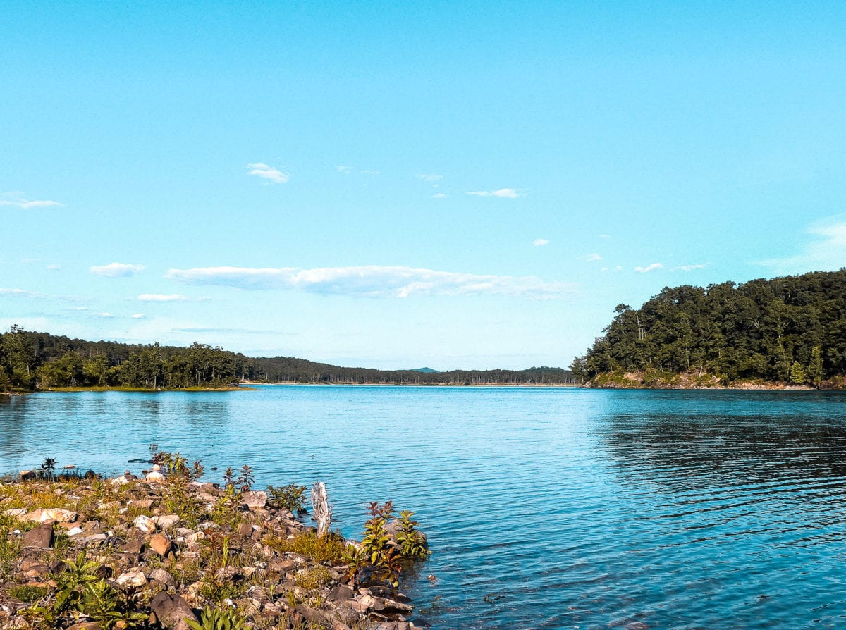 Broken Bow in Oklahoma is one of the hottest glamping destinations in the USA