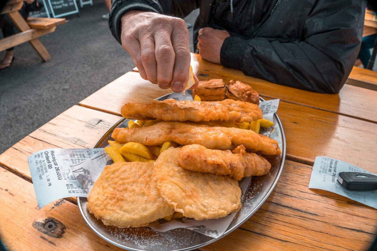 Make sure you eat plenty of fish and chips along the Great Ocean Road!
