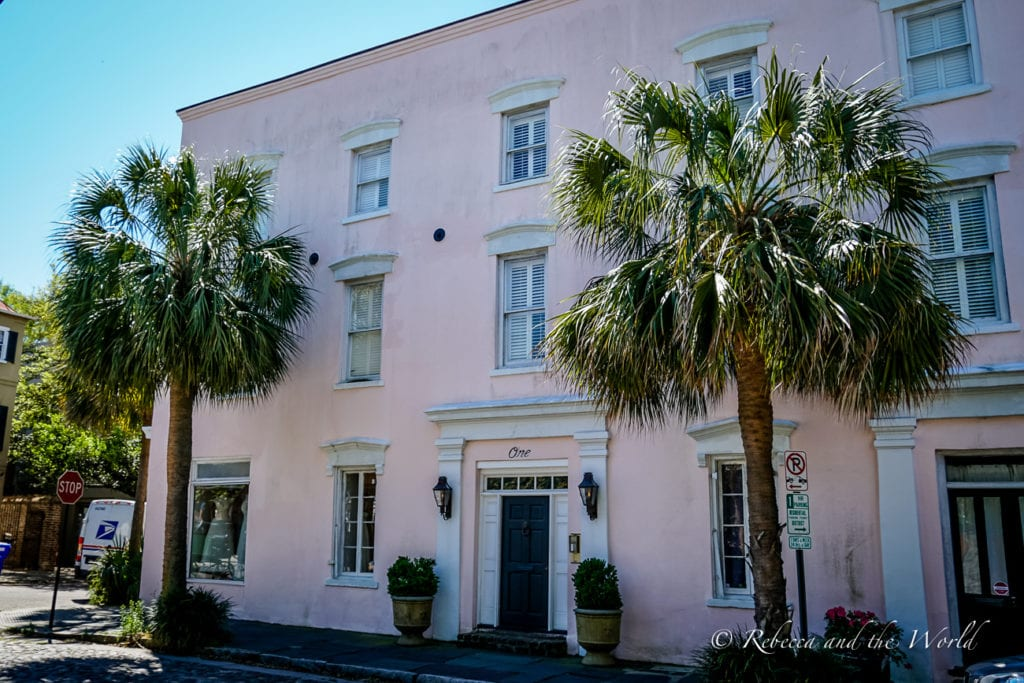 One of the best things to do in Charleston while on a Deep South road trip is check out all the architecture
