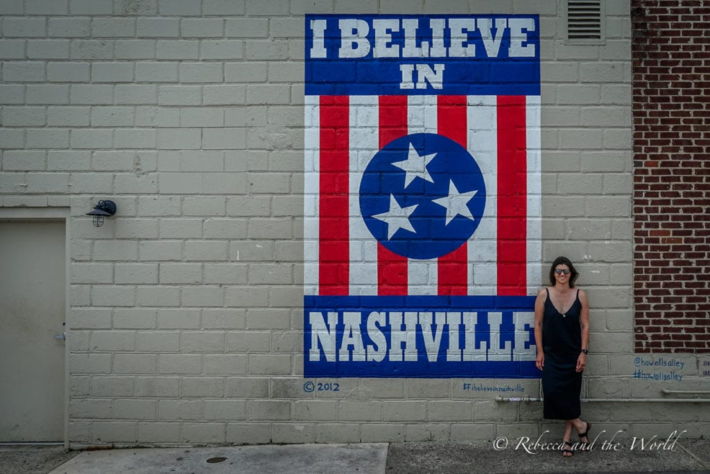 One of the most popular things to do in Nashville is mural hunting