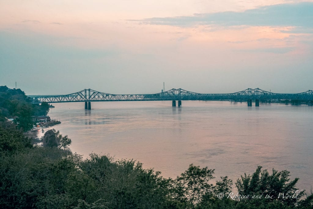 The views over the Mississippi River in Natchez are stunning, especially at sunset