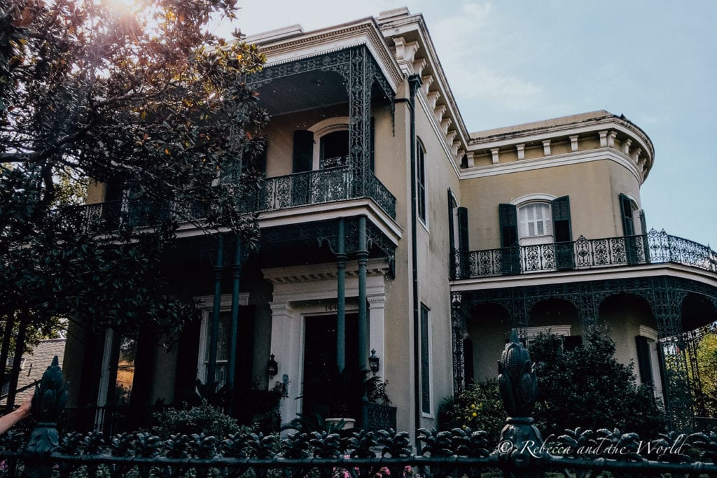 Wandering the Garden District to see the incredible homes is one of the best things to do in New Orleans