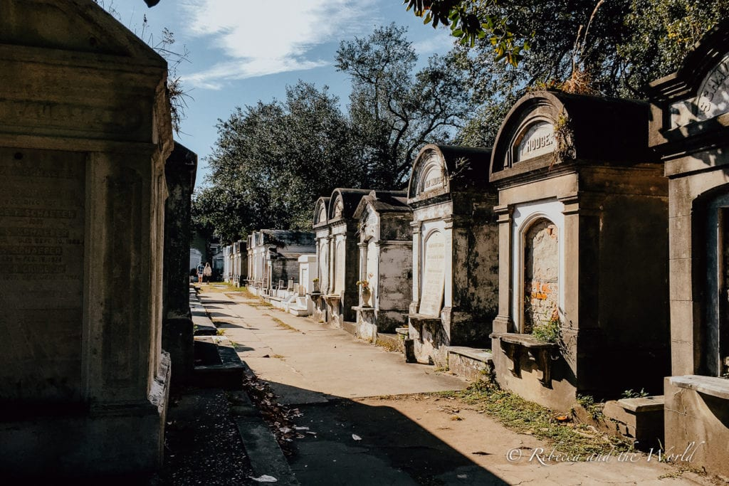 Spook yourself at one of New Orleans' cemeteries