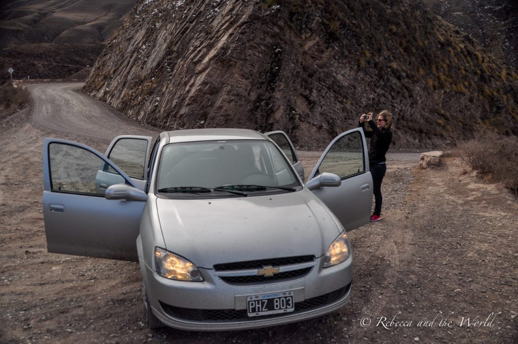 It's possible to self-drive in Argentina but you won't need a car in Buenos Aires