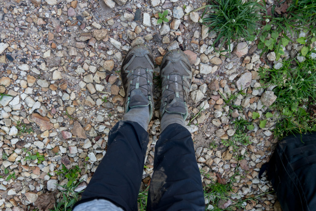 Wondering what to wear when you first meet gorillas in the wild? This gorilla trekking packing list will help. Tip: tuck your pants into your socks to keep bugs and mud out!