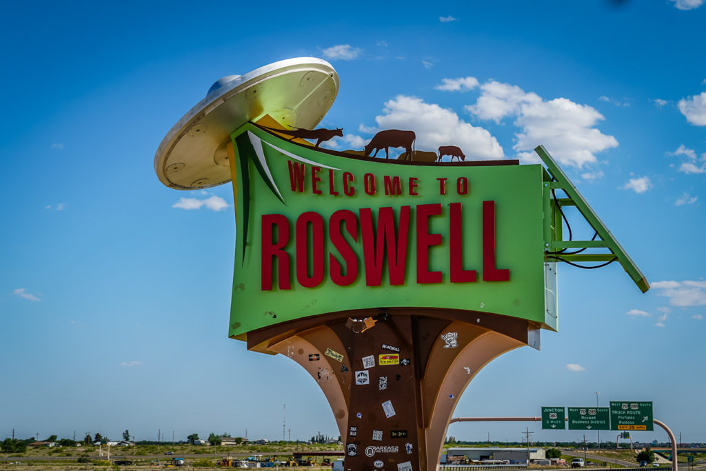 Roswell is one of the quirkiest places to visit in New Mexico!